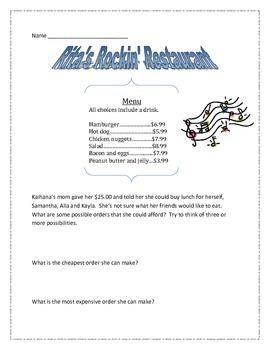 Rockin' Restaurant Rich Task