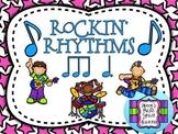 Rockin' Rhythm Flash Cards - 6/8 Compound Meter