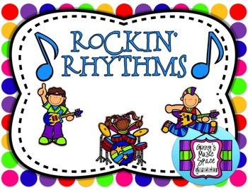 Rockin' Rhythm Flash Cards -BUNDLE