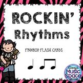 Rockin' Rhythm Flash Cards Freebie Ta TiTi #musiccrewfreebies