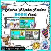 Rockin' Rhythm Readers: MUSIC BOOM CARDS--Digital Task Car