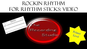 Rockin Rhythm for Rhythm Sticks: Primer Level