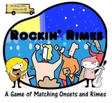 Rockin' Rimes: A Literacy Center Game of Onset and Rime Matching