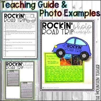 Rockin' Roadtrip Narrative Writing Project