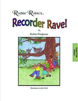 Rockin' Robin's Recorder Rave - Guitar Fret Edition