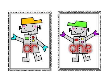 Rockin' Robot ABC Order Center-100 Fry Words