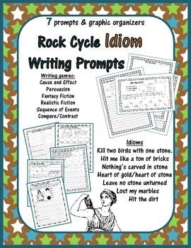 Rockin' Rocks - 7 English Idiom Writing Prompts