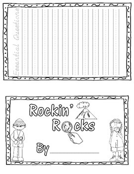Rockin' Rocks Essential Questions and Student Journal