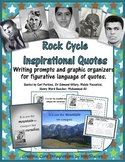 Rockin' Rocks Inspirational Quotes Writing Prompts