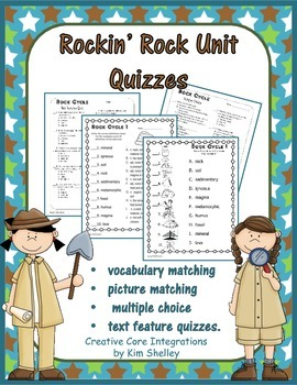 Rockin' Rocks Quizzes