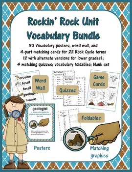 Rockin' Rocks Vocabulary Mini-Bundle