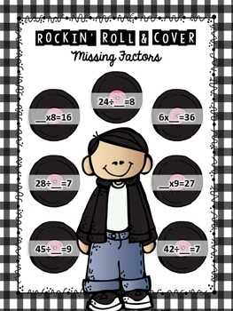 Rockin' Roll & Cover: Missing Factors Game