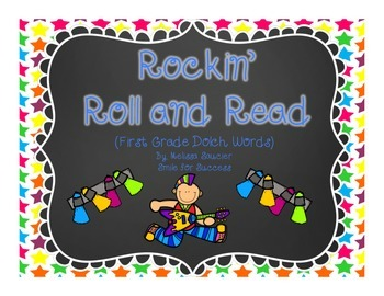 Rockin' Roll and Read {First Grade Dolch Words}