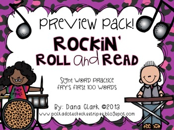 Rockin' Roll and Read- PREVIEW FREEBIE PACK