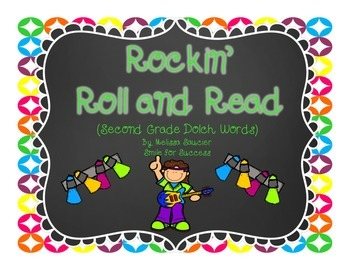 Rockin' Roll and Read {Second Grade Dolch Words}