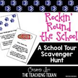 Rockin' Round the School:  A School Tour Scavenger Hunt