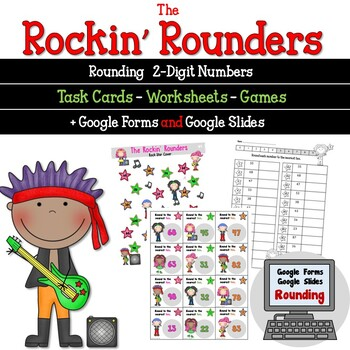Rounding 2 Digit Numbers with the Rockin Rounders