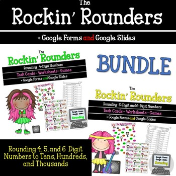 Rockin Rounders Task Cards_Round to nearest Hundred Thousand
