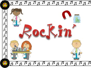 Rock Star Theme ~ Skill Banners (Reading, Writing, Math, Science)