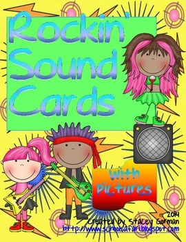 Rockin' Sound Cards with Pictures
