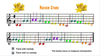 Rockin Stars (for Boomwhackers)