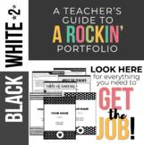 Rockin' Teaching Portfolio *B&W 2nd edition*