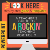 Rockin' Teaching Portfolio [Powerpoint]