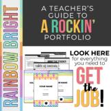 Rockin' Teaching Portfolio *Rainbow Bright*