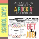Rockin' Teaching Portfolio *School Days*