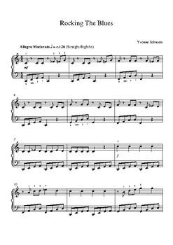 Rockin' The Blues -  A Grade 3 Piano Solo