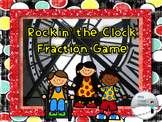 Math Game: Rockin' The Clock Fraction and Time