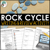 Rock Cycle - Writing & Review Activity