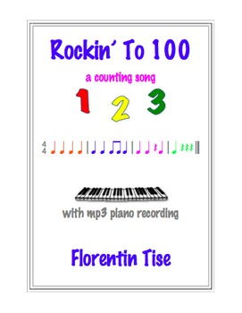 Rockin' To 100: A Counting Song for Kindergarten & First Grade integration