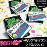 Rockin' Welcome Back to School Kit {Postcards, Gift Tags & Door Decor}