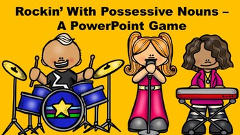 Rockin' With Possessive Nouns - A PowerPoint Game