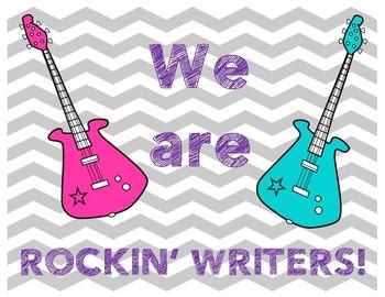 Rockin' Writers Display
