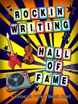 Rockin' Writing Hall of Fame Bulletin Board