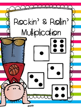 Rockin' and Rollin' Multiplication Game FREEBIE