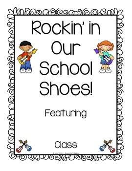 Rockin' in Our School Shoes Book FREEBIE