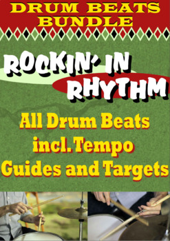 Rockin' in Rhythm - DRUM BEAT BUNDLE - All Styles - Rock Jazz Pop Many More