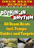 Rockin' in Rhythm - DRUM BEAT BUNDLE - All Styles - Rock J