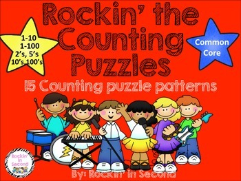 Rockin' the Counting Puzzles Common Core