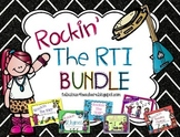 RTI Rockin' Bundle for LNF, PSF, FSF, NWF, Rhyming, and Reading Fluency