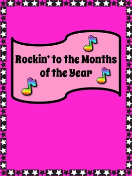 Months of the Year Song: Rockin' to the Months of the Year: mp3 and Lyrics Sheet