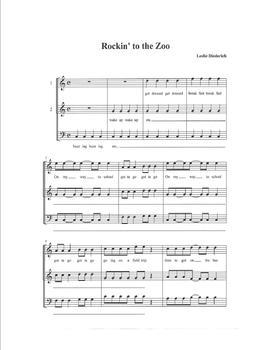 Rockin' to the Zoo Audio file