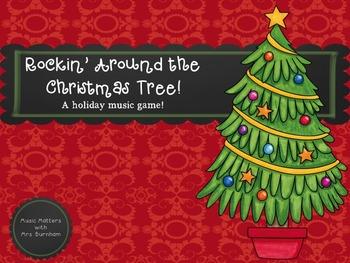 Rocking Around the Christmas Tree Game