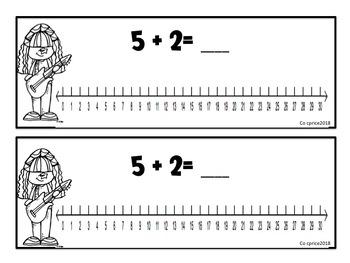 Rocking Number Lines (Bundle)