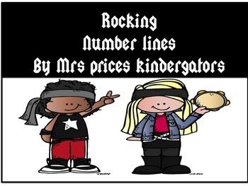 Rocking Number lines Smartboard