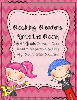 Rocking Reader Response Write the Room Activity
