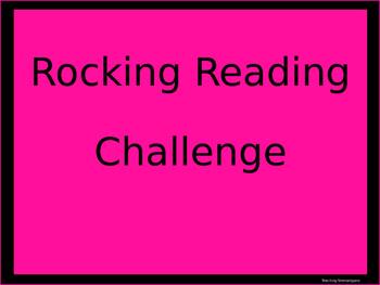 Rocking Reading Challenge